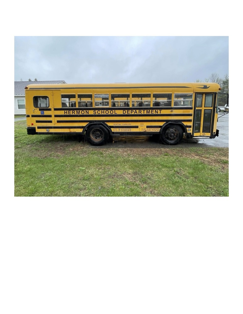 Old Bus for Sale- Notice of Bus Bids