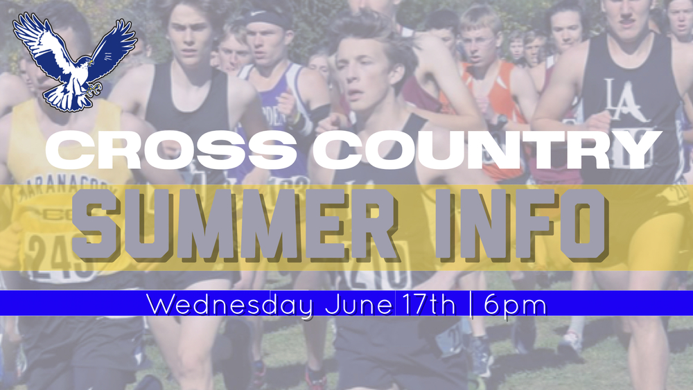 Cross Country Summer Information