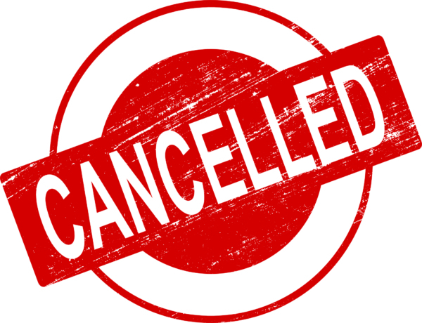All after school activities cancelled for 11/12/19.