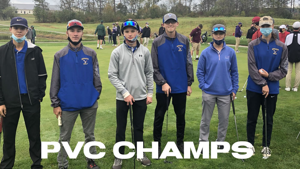 Golf Team wins PVC Class B Championship