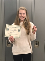 Sydney Gallop named to the Maine Soccer Coaches Association All State Team.