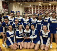 Middle School Cheer wins Doughty Comp.