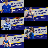 Class of 2020 has five 12 season athletes.