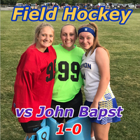 HAWKS WIN!! Field Hockey opens with a win over John Bapst.