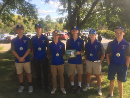 HAWKS WIN!! Golf team wins John Bapst Invitational at Natanis.