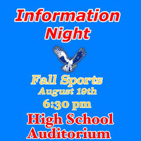 Fall Sports Informational Meetings