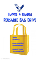 Hawks 4 Change Reusable Bag Drive