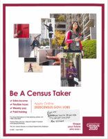 Census Takers Needed!