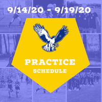 Fall Sports First Week Tryout/Practice Schedule