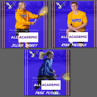 Shorey, Mailloux, and Plissey named to Tennis All Academic.