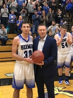 Isaac Varney scores his 1000th career point!!