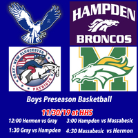 Boys preseason basketball this weekend.