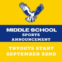 Middle School Sports Guidelines and Information