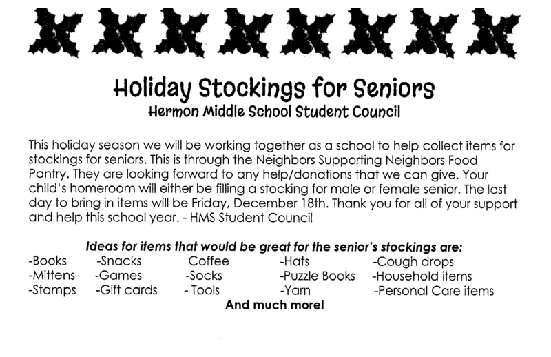 Holiday Stockings for Seniors